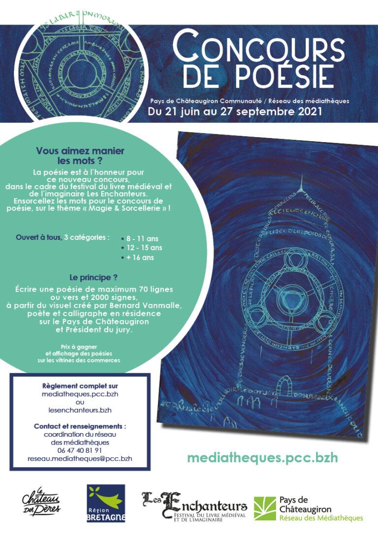 Affiche Concours Poésie