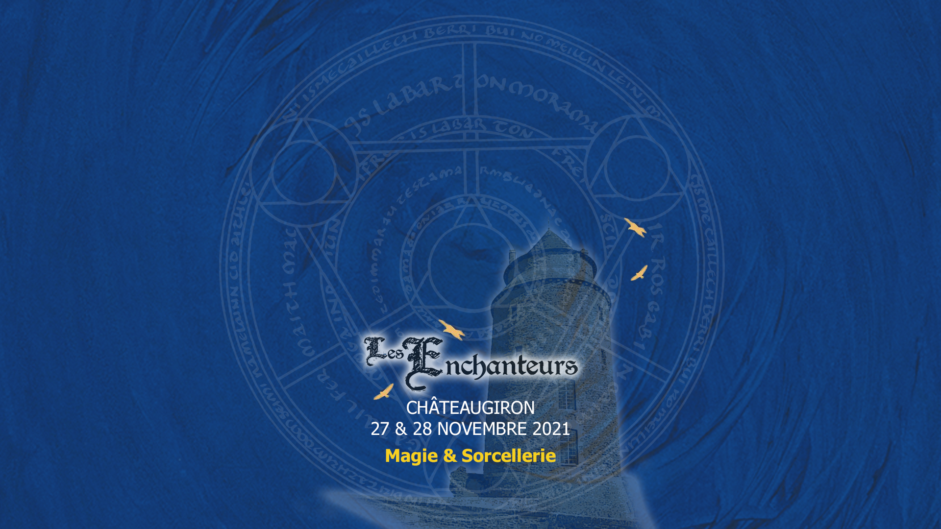 affiche web Les Enchanteurs 2021